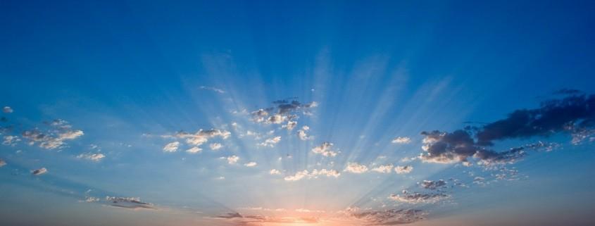 Buongiorno in un alba